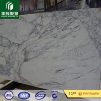 Exquisite natural price of italian statuario White marble slab first class