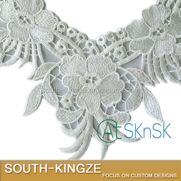 Neck Lace Patch Crochet Polyester Neck Lace Collar Accessories for Making dress
