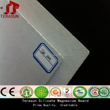 Terasun upgraded magnesium oxide board/magnesium sheet/high quality endurable wall fireproof board