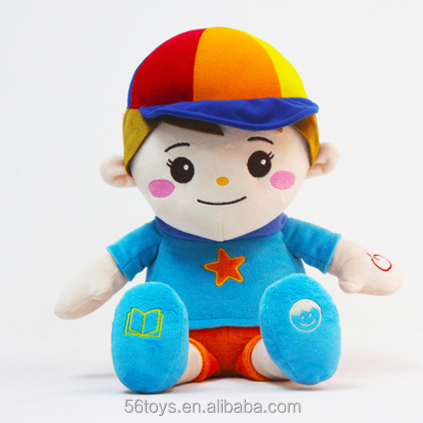 most popular toys pull string musical baby plush boy toys