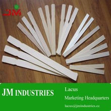 custom bamboo or wood hand paint paddle sticker stirrers mixer for painting