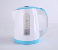 360 degree rotation plastic cordless Electric kettle with LED illumination