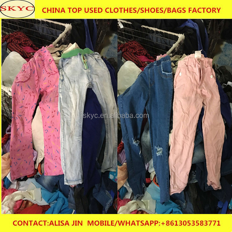 trendy fashion styles mixed used clothes hongkong used clothing in stocks for Africa buyers