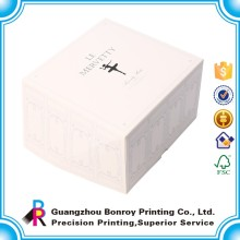 Wholesale Custom Sweet Cake Packaging Coated Paper White Box