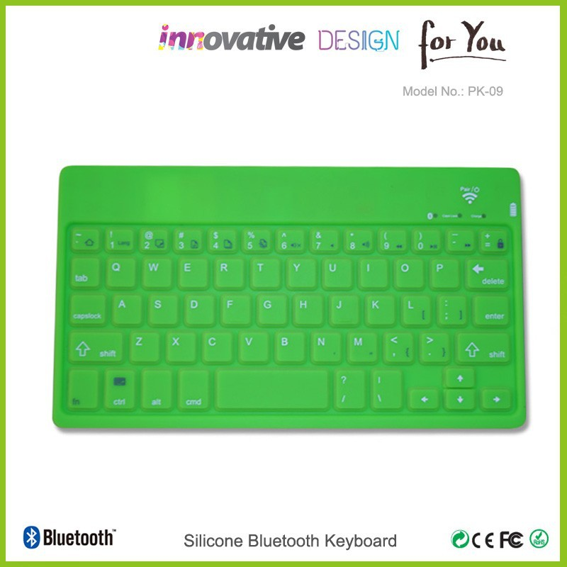 2015 christmas new hot items for promotion gift wireless ultra slim flat keyboard
