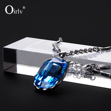 Oirlv Custom Logo Rectangle Clear Crystal Jewelry Display Block Stand for Shop Showcase Glass Jewellery Organiser Wholesale