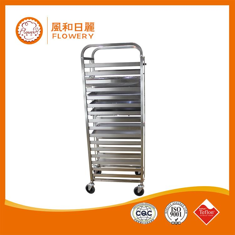 Professional bakery trolley cart with CE certificate