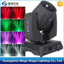 dmx decoration dj 200w 5r sharpy beam moving head stage light
