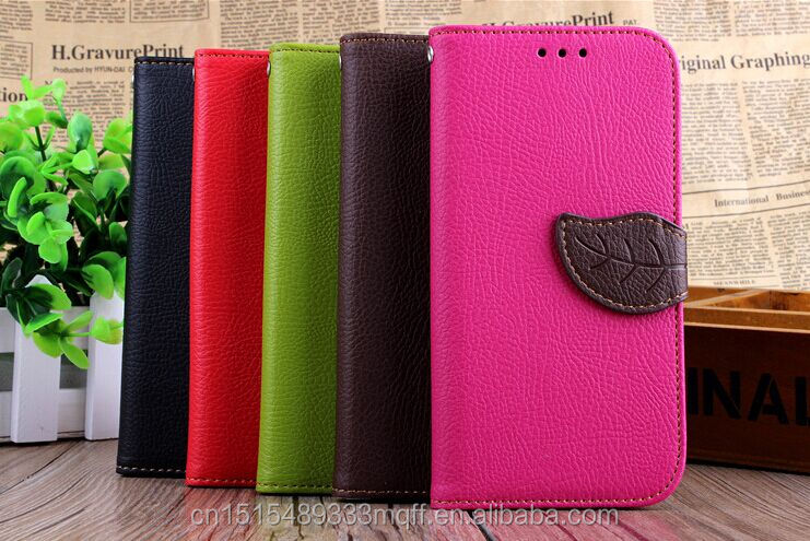 Leather Flip Card Holder Wallet Stand Case Leather pouch pocket case for htc one m8