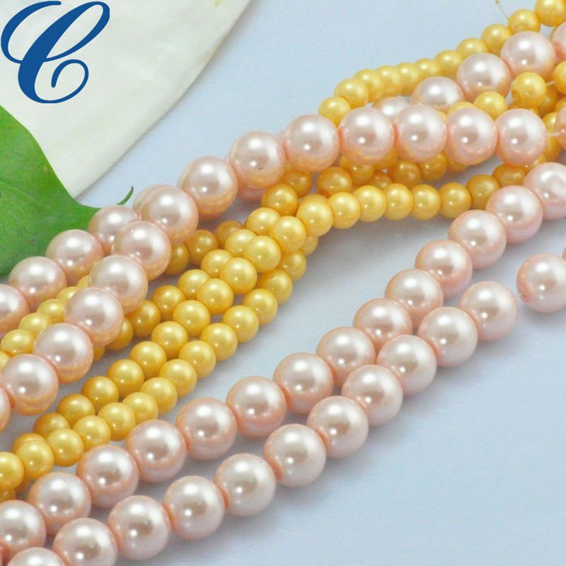 Quality artificial pearl glass bead bulk