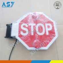 School Bus Road Stop Sign Safety Driving Equipment
