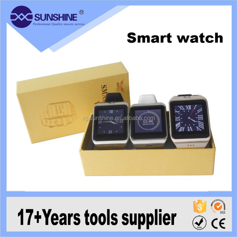 Popular bluetooth android smart watch 2015 with mobile multifunction
