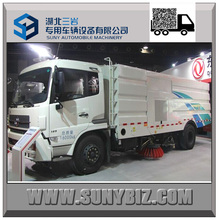 Hot Sale! Dongfeng 5-7CBM Street Cleaning Truck High Pressure Wash and Sweep Truck