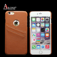 Leather back cover case cardholder belt clip case for iphone 6 plus