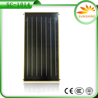Authentic quality split pressurized heater pipe solar collector with flat panel