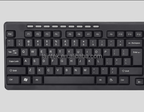 computer parts and accessories desktop UK layout ergonomic custom OEM computer office wired USB keyboard
