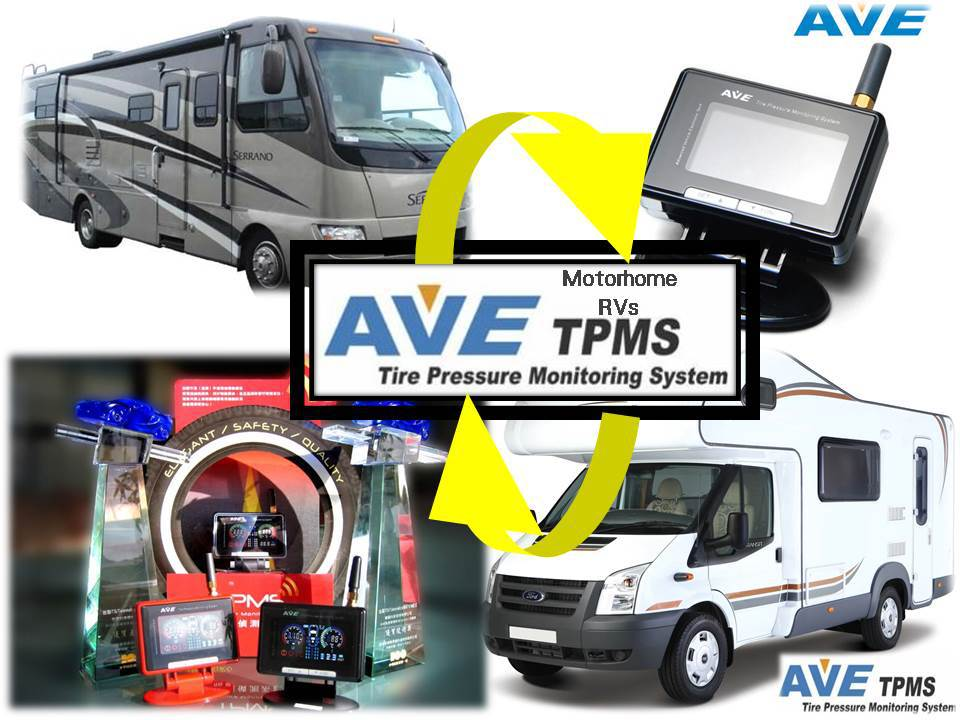 AVE TPMS Your most reliable TPMS partner for Camper Trailer