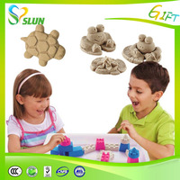 2015 Best selling DIY non-toxic magic modeling sand toys for kids playing