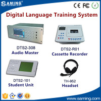 Easy to use effective digital language lab equipment for interactive learning and teaching