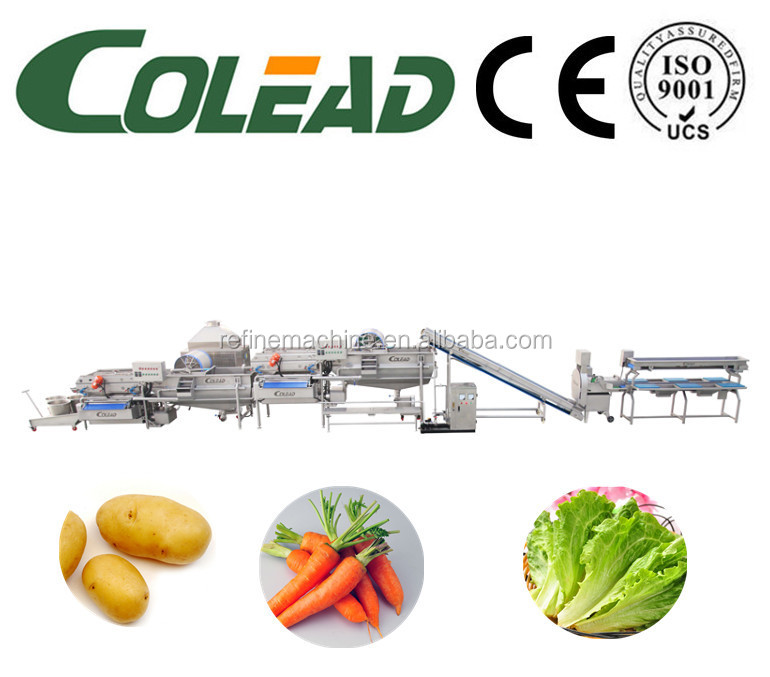 machines for frozen vegetables production line vegetable and fruit washing machine