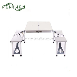 Portable Outdoor Aluminium Picnic Folding Table And Chair Set