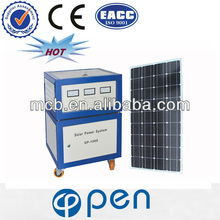 OP600W 2013 hot sale solar panel kits for home grid system
