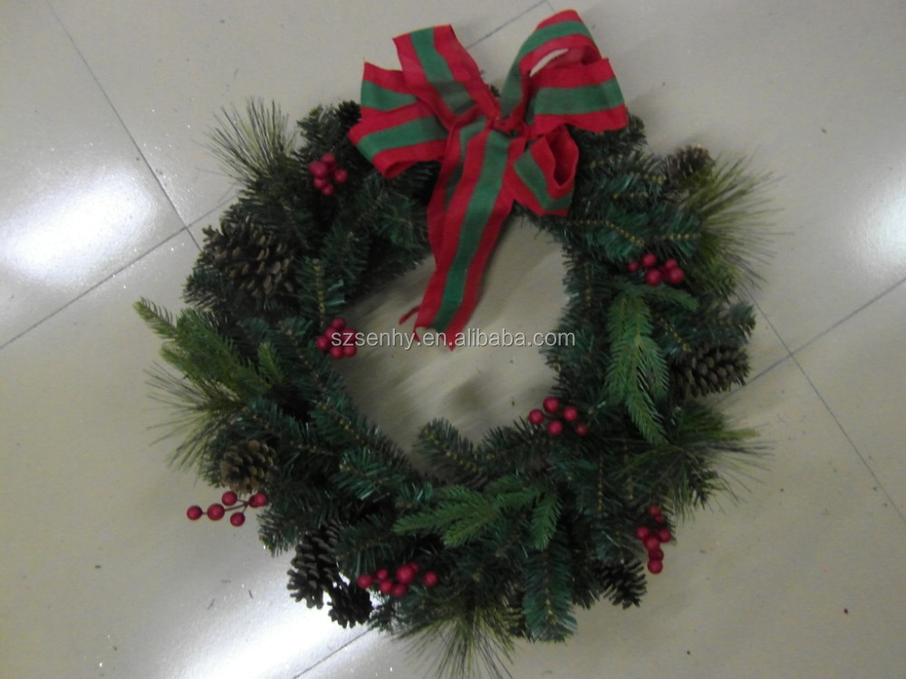 2016 Xmas Decorative Items Wreath Hangers for Doors