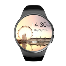 IP57 waterproof touch screen bluetooth smart phone watch , stainless steel hand watch mobile phone with heart rate monitor