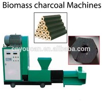 2016 High efficient Automatic compressed raw materials in charcoal briquette