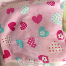 100% cotton fabric brushed flannel making pajamas/baby flannel/bed sheets/shirts