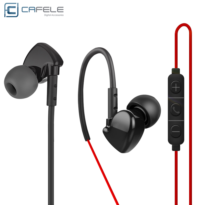 CAFELE OEM Newest Sport Stereo Sound 3.5mm Connectors Earphones Mini In-ear Original Earphones For iPhone For Android
