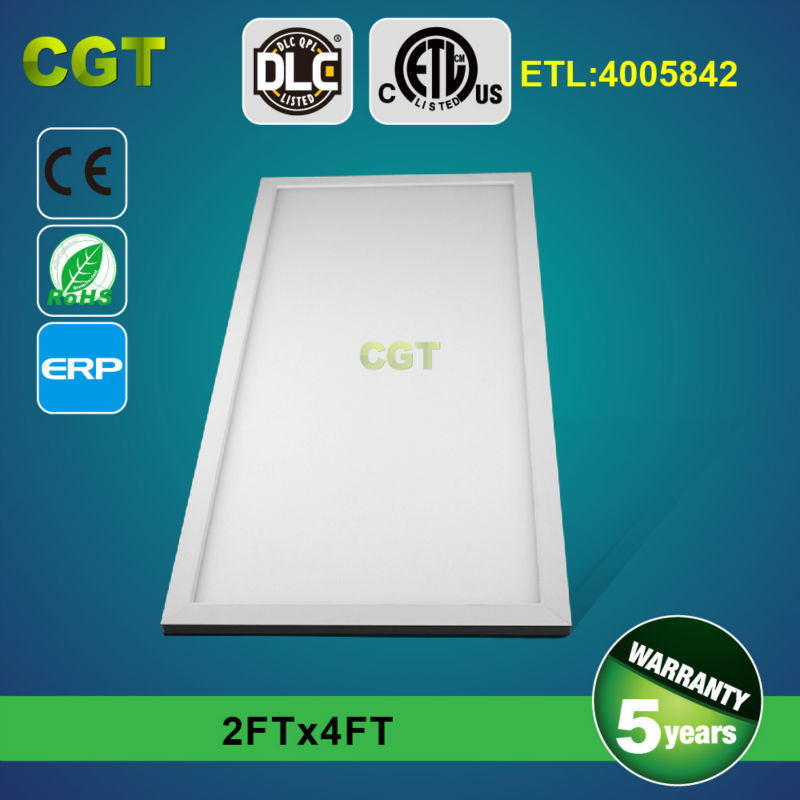 LED surface panel light 600 1200 2x4 54w 72w UL DLC ETL TUV GS 5 years warranty