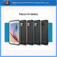 Shockproof Neo Hybrid Hard PC Bumper Protective Silicone TPU Back Phone Case Mobile Phone Cover for Samsung