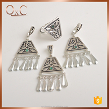 New exclusive design thai silver jewellery set