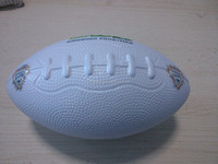 "7"" PU foam anti stress American ball toy style/sports ball American football/Amerian football sport toys for adults&kids"