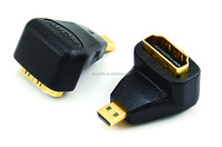 90 degree HDMI female to MICRO male adapter