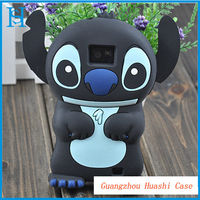 3d cartoon silicone case for samsung i9100 galaxy s2