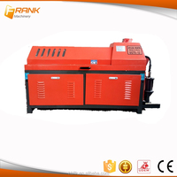 CNC steel bar straightening and cutting machine
