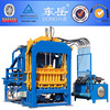 QT4-15C full automatic concrete /fly ash / sand / hydraulic block production line /brick maing machine