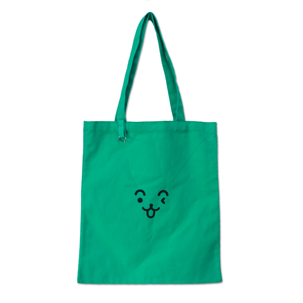 High Quality Customize 12oz Canvas Green Color Tote Cotton Canvas Bag