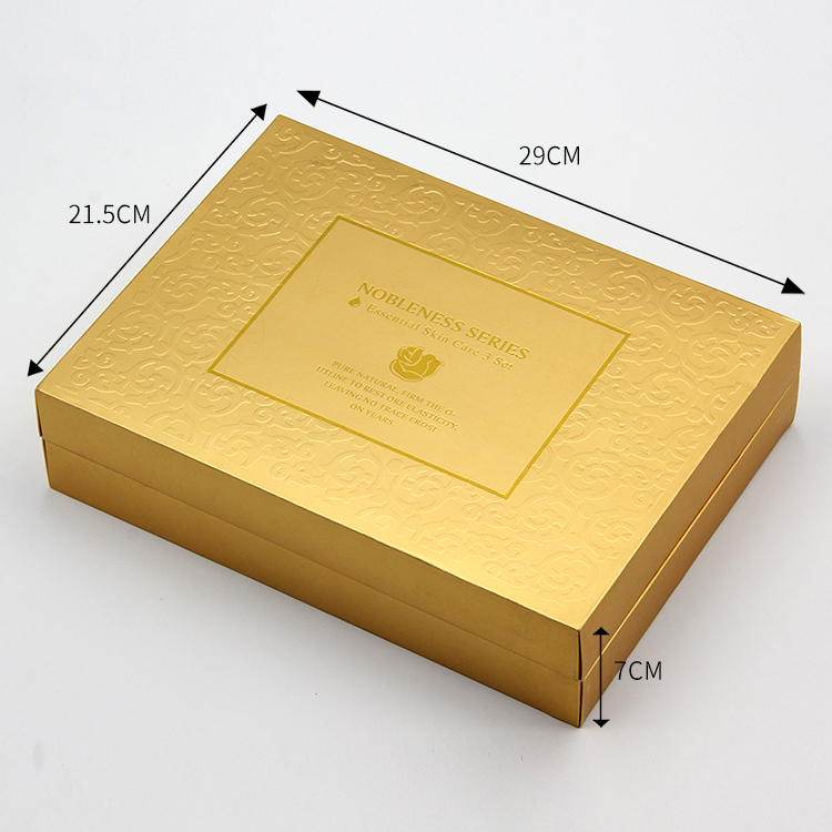 custom printing paper board luxury cosmetic packaging cosmetic box