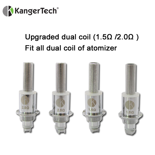 Dual Coil Replacement Wick for Electronic Cigarette