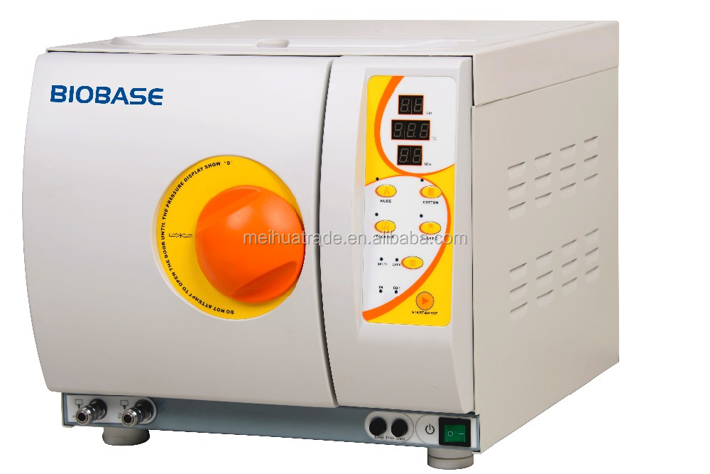 EN standard Table Top Autoclave Thermodynamic Vacuum Sterilizing Equipment