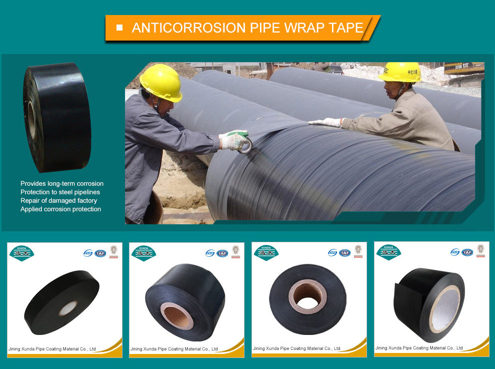AWWA C209 pipe repair and joint wrapping tape