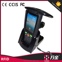 Car Parking System Quad Core Android Pda Nfc Mobile Phone With 1d 2d Barcode Scanner Hf Uhf Rfid Reader Writer
