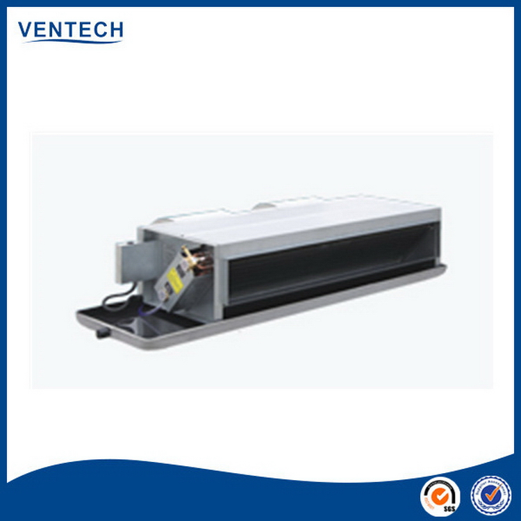 Low price customized fan coil unit concealed duct type