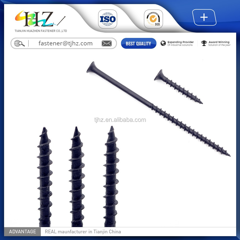 Professional product fine thread streaker point drywall screws