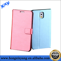 Smooth Genuine Leather Case for Samsung Note 3.