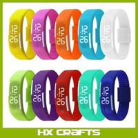 2016 Sport LED Watches Candy Color Silicone Rubber Touch Screen Digital Watches, Waterproof Bracelet Wristwatch