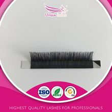 flat set mink fur lash individual False eyelash extensions